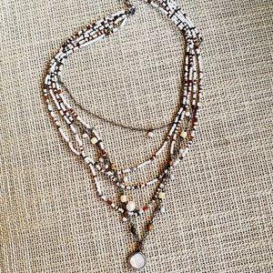 Silpada beaded necklace